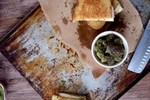 The Best Cannabis Grilled Cheese Sandwich