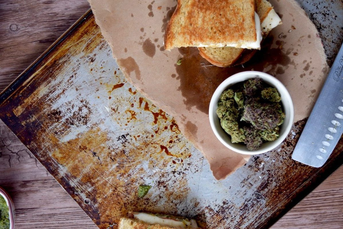 Best Cannabis Grilled Cheese Sandwich Picture